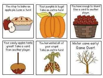 Fall CVCE Word Games Bundle