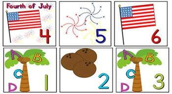 Back to School Fall Calendar Bundle July -November