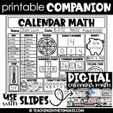 Free Calendar Math Fall