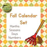 Fall Calendar Set