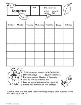 Fall Calendars