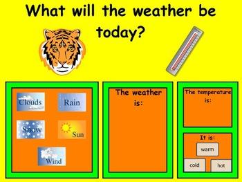 Fall Calendars (August - December) - Mimio - Kindergarten / PreSchool
