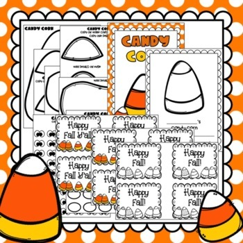 Fall Crafts: Candy Corn Craft: Class Book: Halloween Crafts: October Crafts