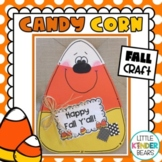 Fall and Halloween Candy Corn Craft and Class Book