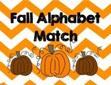 Fall Candy Corn Uppercase and Lower Alphabet Math
