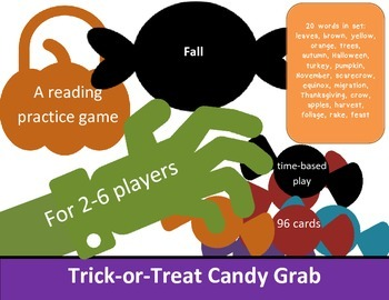 Fall Candy Grab Game