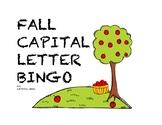 Fall Capital Letter Bingo