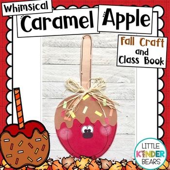 Fall Caramel Apple Craft and Class Book