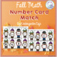 Fall Card Number Match