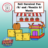 Fall Carnival Fun for /R/ and Vocalic /R/