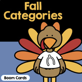 Fall Categories | Turkey Categories | Boom Cards