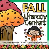 Fall Center Activities (Literacy)
