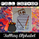 Fall Center ~ Falling Alphabet