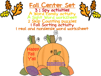 Fall Center Set