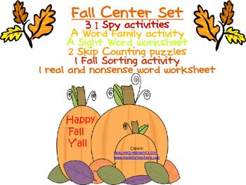 Fall Center Set