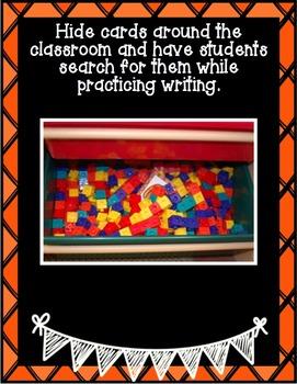 Fall Center ~  Write the Room