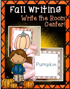 Fall Center ~  Write the Room