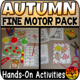 Fall Centers Autumn Activities Fine Motor Centers OT Literacy Math Therapy