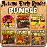 Autumn Bundle Fall Centers Early Reader Activities Pumpkin