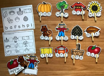 """Fall Centers:  """"Biggie"""" Centers for Little Hands"""