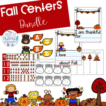 Fall Centers Bundle