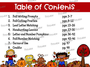 Fall Centers Bundle