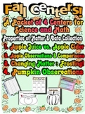 Fall Centers - Science, Math, Properties of Matter! Fun, Fun, Fun!