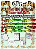 Fall Centers - Science, Math, Properties of Matter! Fun, F