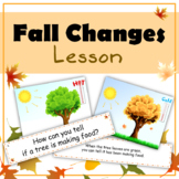 Making Inferences: Fall Changes (Posters & Discussion Questions)