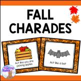 Fall Charades Game