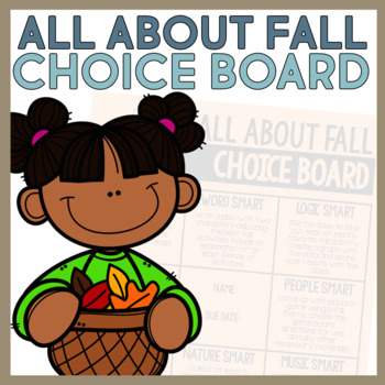 Fall Choice Board