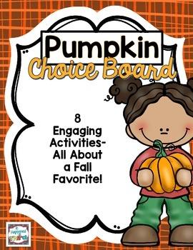 Pumpkin Choice Board