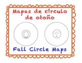 Fall Circle Maps (Spanish & English)
