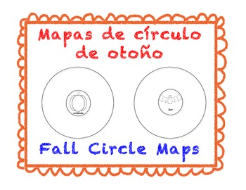 Fall Circle Maps (Spanish & English)