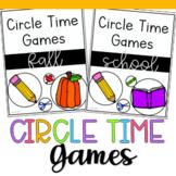 Fall Circle Time Games