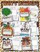 Fall Class Books --- Class Books for September, October &