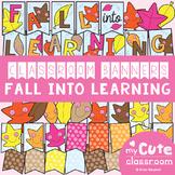 Fall Classroom Banner Set