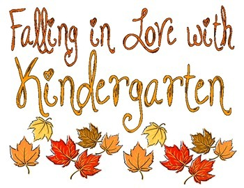 Fall Classroom Decor & Center Activity