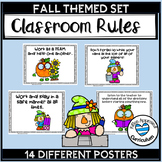 Fall Classroom Decorations Pumpkin and Scarecrow Posters