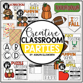 Fall Classroom Party Pack