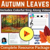 "Fall Classroom Song | ""Autumn Leaves"" by Lisa Gillam | Com"