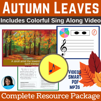 "Fall Classroom Song | ""Autumn Leaves"" by Lisa Gillam 