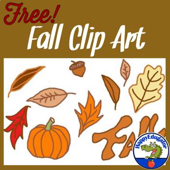 Fall Clip Art FREE