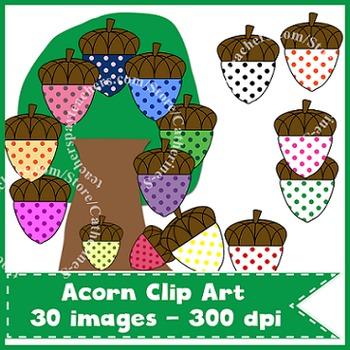 Acorn Clip Art