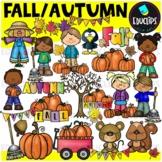 Fall Clip Art Bundle (Educlips Clipart)