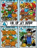 Fall Clip Art Bundle - Chirp Graphics