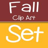Fall Clip Art Bundle Set {The Teacher Stop}