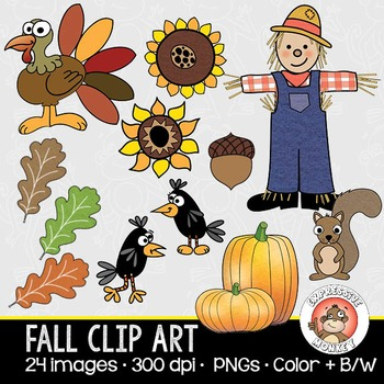 Fall Clip Art Collection