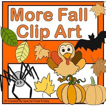 Fall Clip Art Designs  Special Treat Friday