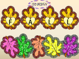 Fall- Crafts - Autumn leaves - Numbers - Clip Art - Personal or Commercial Use